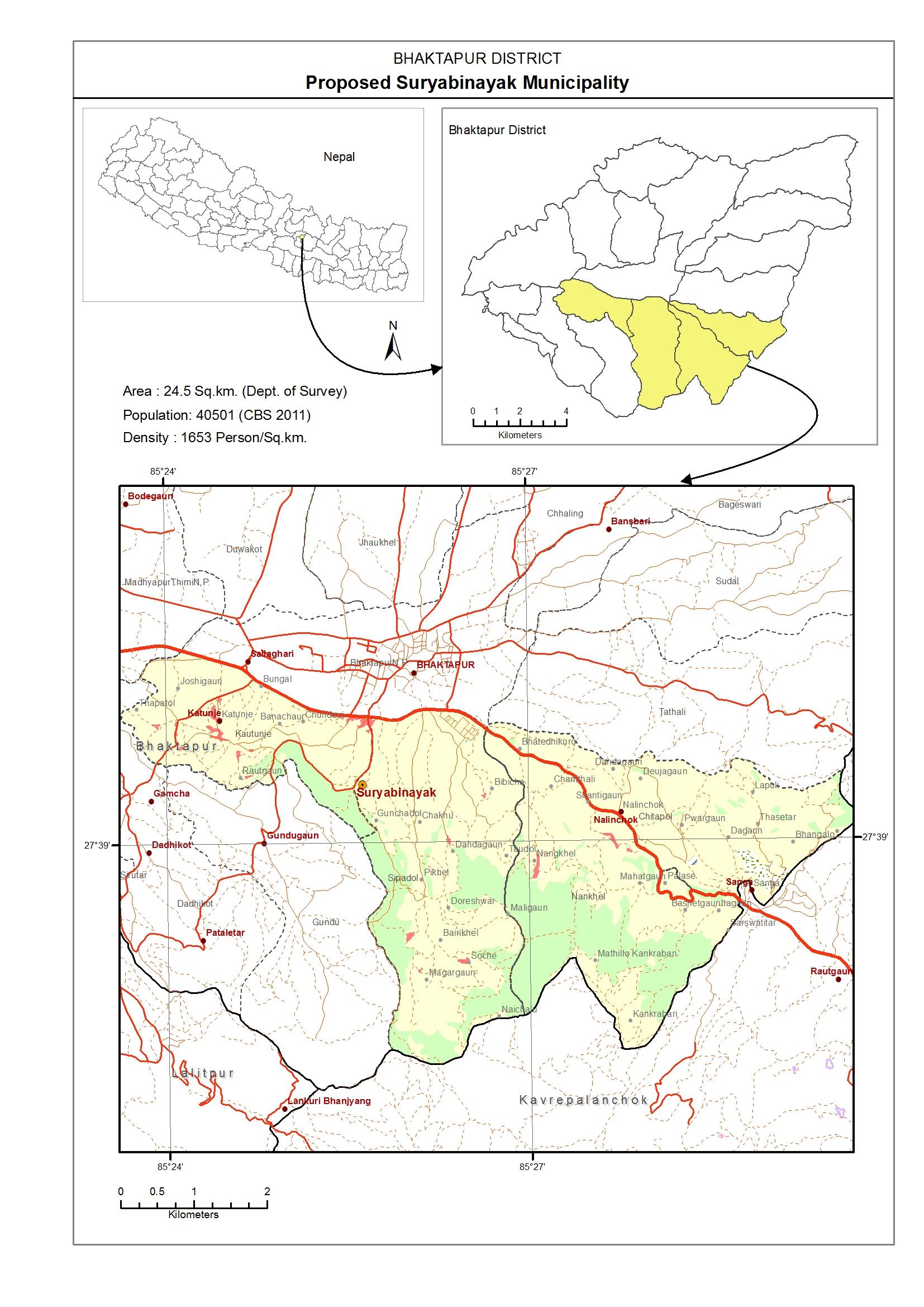 Gis 61 New Municipality Map Local Governance And