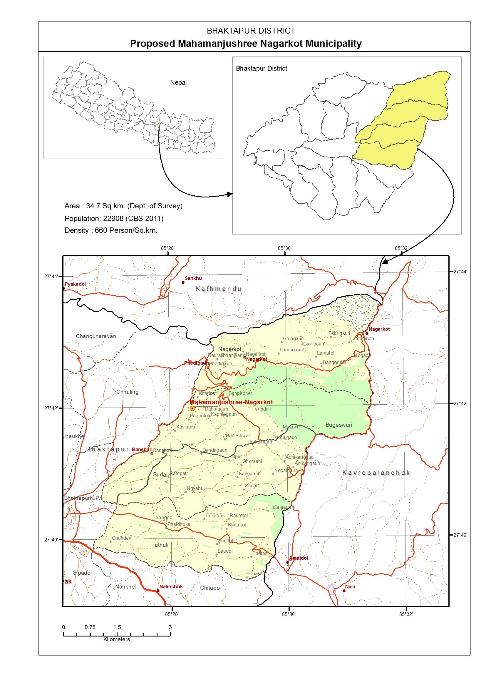 gis 61 new municipality map