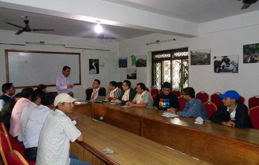 UNDP Country Director visits District Development Committee, Kaski