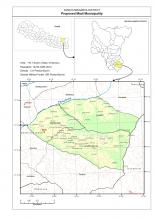 Madi (Sankhuwasabha) Municipality Map