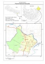 Saptakoshi Municipality Map