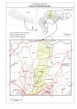 Tokha Municipality Map