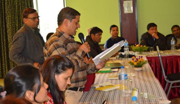QnA session during workshop