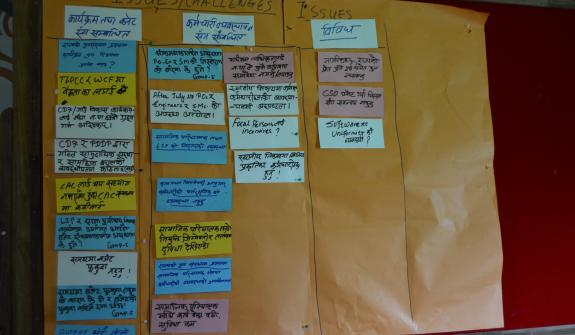Issues and challenges being categorized